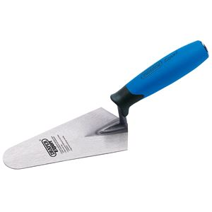 Trowels, Floats and Hawks, Draper Expert 81214 Soft Grip Gauging Trowel (175mm), Draper