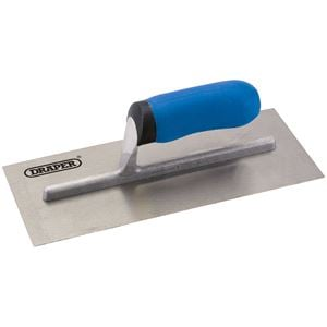 Trowels, Floats and Hawks, Draper 81242 Soft Grip Plastering Trowel (280mm), Draper