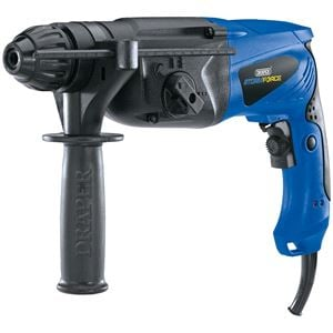 Drills and Cordless Drivers, Draper 83588 Storm Force SDS+ Rotary Hammer Drill Kit with Rotation Stop (850W), Draper