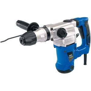 Drills and Cordless Drivers, Draper 83589 Storm Force SDS+ Rotary Hammer Drill Kit with Rotation Stop (1250W), Draper