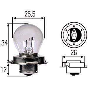 Bulbs - by Bulb Type, HELLA Bulb, spotlight, HELLA