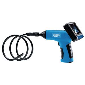 Flexi Inspection Cameras, Draper 92578 Rechargeable Pistol Grip Boroscope, Draper