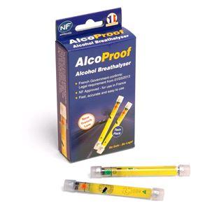 Breathalyser, Alcosense Single Use NF Breathalyser Twin Pack, TRAVEL SPOT