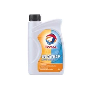 Engine Oils and Lubricants, Glacelf Auto Supra Concentrated Long Life Coolant and Antifreeze (Pink) 1 Litre, Total