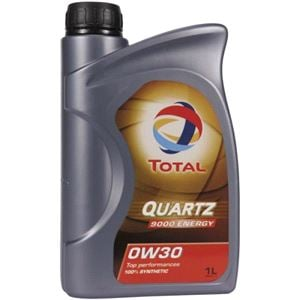 Engine Oils and Lubricants, TOTAL Quartz 9000 Energy 0w30 Fully Synthetic Engine Oil. 1 Litre, Total