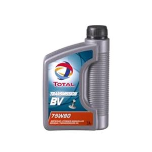 Gearbox Oils, TOTAL Transmission Fluid BV75w80. 1 Litre, Total