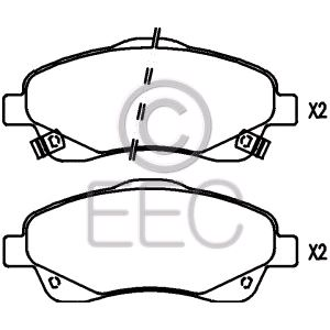 BRP1333 EEC Brake Pad fit Toyota Avensis Front Axle