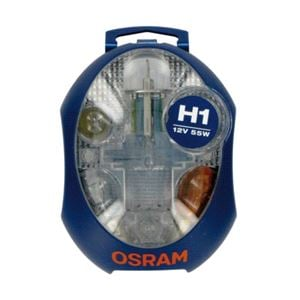 Bulbs - by Vehicle Model, Osram Original H1 12V Spare Bulb Kit    for Ssangyong MUSSO, 1995-2004, Osram