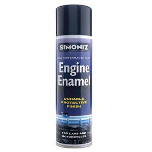Specialist Paints, Simoniz Engine Enamel Paint - Gloss Black 500ml., Simoniz