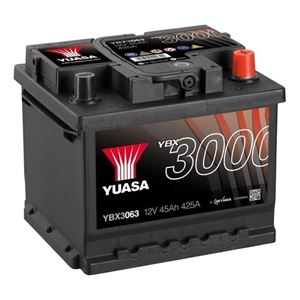 Batteries, YUASA YBX3063 Battery 063 3-Year Warranty, YUASA