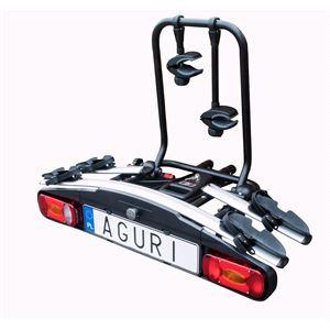 Bike Racks, Aguri Active Towbar Mounted Bike Rack - 2 Bike Carrier - Silver, Aguri
