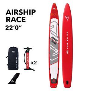 All SUP Boards, Aqua Marina Airship 2020 Race SuP Paddle Board, Aqua Marina