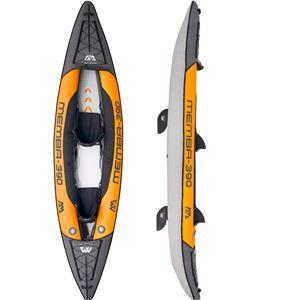 All Kayaks, Aqua Marina Memba-390 Leisure Kayak - 2 Person, Aqua Marina
