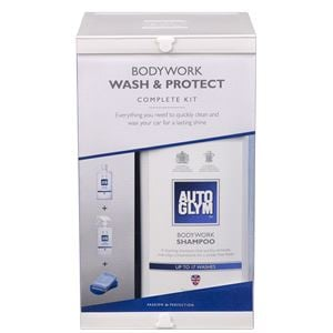 Exterior Cleaning, Autoglym Bodywork Wash & Protect Complete Kit, Autoglym