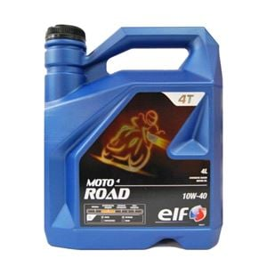 Engine Oils and Lubricants, Moto 4 Road Semi Synthetic 4 Stroke Motorcycle Engine Oil. 4 litre, Elf