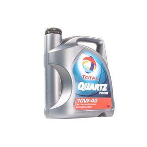 TOTAL Quartz 7000 10w40 Semi Synthetic Engine Oil. 5 Litre