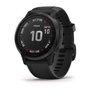 Smart Watch, Garmin Fenix 6S Pro Black With Black Band, Garmin