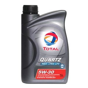 Engine Oils and Lubricants, TOTAL Quartz Ineo Long Life 5w30 Fully Synthetic Engine Oil. 1 Litre, Total