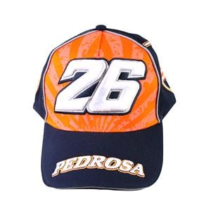 Hats, PADDOCK CAP PEDROSA 26 BLUE UNIVERSAL,