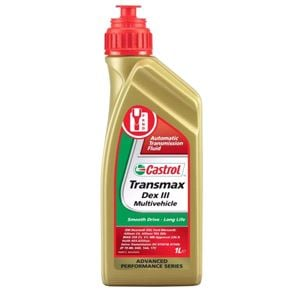 Gearbox Oils, Castrol Transmax Dex III Multivehicle Gear Oil 1. Litre, Castrol