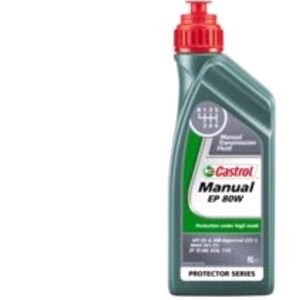 Gearbox Oils, Castrol Manual EP80W Gear Oil. 1 Litre, Castrol
