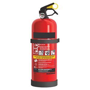 Emergency and Breakdown, Fire extinguisher –  DIN EN 3 with pressure gauge and 2kg powder, Petex