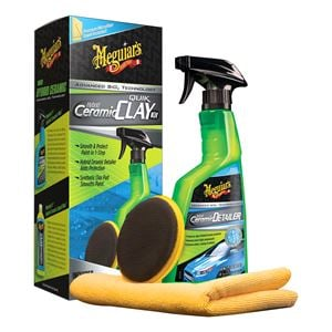 Exterior Cleaning, Meguiars Hybrid Ceramic Synthetic Clay Kit, Meguiars