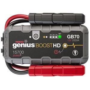 Jump Starter, NOCO GB70 Genius Boost HD - 2000A ultra Safe Jump Starter , NOCO