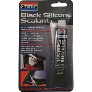 Maintenance, GRANVILLE SILICONE SEALANT BLACK 40G GRANVILLE SILICONE SEALANT BLACK 40G, Granville