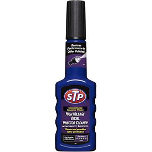 Fuel Additives, STP® High Mileage Diesel Injector Cleaner - 200ml, STP