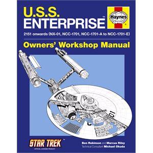 Haynes DIY Workshop Manuals, Haynes - U.S.S. Enterprise Manual, Haynes