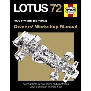 Haynes DIY Workshop Manuals, Haynes - Lotus 72 Owners Manual, Haynes