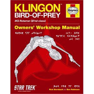 Haynes DIY Workshop Manuals, Haynes Science Fiction Manual - Klingon Bird-of-Prey, Haynes
