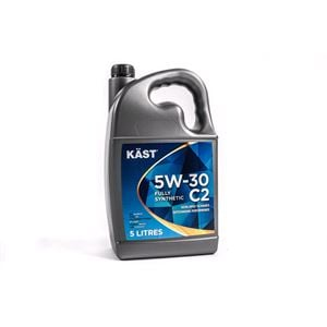 Engine Oils and Lubricants, KAST 5w30 Fully Synthetic C2 Engine Oil. 5 Litre, KAST