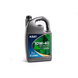 Engine Oils and Lubricants, KAST 10w40 Semi Synthetic A3 B4 Engine Oil. 5 Litre, KAST