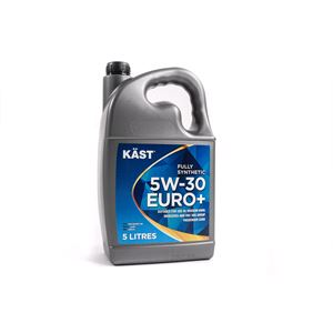 Engine Oils and Lubricants, KAST 5w30 Euro+ Fully Synthetic Engine Oil. 5 Litre, KAST