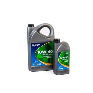 Engine Oils and Lubricants, KAST 10W40 Semi Synthetic Engine Oil. 6 Litre (5 Plus 1 Litre), KAST