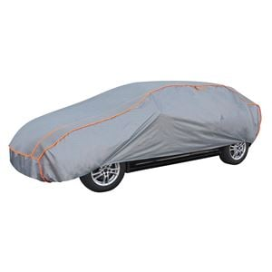 Car Covers, Perma Protect Complete Car Cover (Light Grey) - Large, Walser