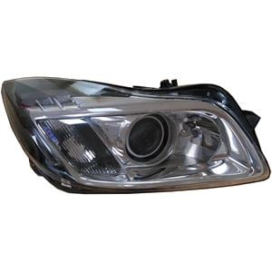 right headlamp (bi xenon, takes d1s / h11 bulbs, supplied without