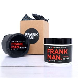 Hair Styling, FrankMan Hybrid Hair Clay / Wax - Matt, Strong Hold, Frankman