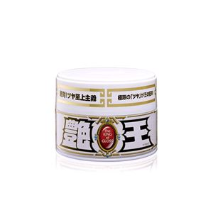 Paint Polish and Wax, Soft99 The King Of Gloss Solid White Wax - 300g, Soft99