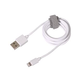 Phone Accessories, Apple Lightning Charging Cable - 100 cm - White,