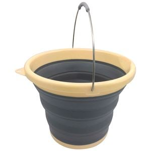 Exterior Cleaning, 10 LITRE COLLAPSIBLE FOLDING WASH BUCKET, Streetwize