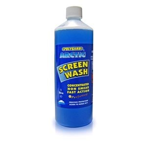 Glass Care, Arctic Screen Wash - Concentrated (-20-¦C) - 1 Litre, POLYGARD