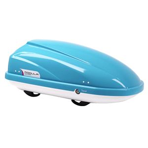 Roof Boxes, Travel Sport 370L Light Blue Roof Box, Modula