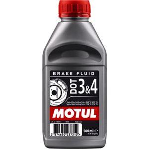 Engine Oils and Lubricants, MOTUL Brake Fluid DOT 3 & 4 500ML, MOTUL