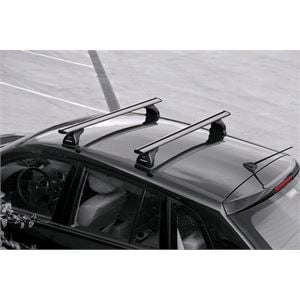Roof Racks and Bars, Aluminium Wing Bars for Nissan Qashqai, 2007-2014, Without Roof Rails, NORDRIVE