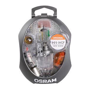 Bulbs - by Bulb Type, Osram Original H1/H7 12V Spare Bulb Kit   , Osram