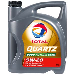 Engine Oils and Lubricants, TOTAL QUARTZ 9000 FUTURE EcoB 5W-20 ENGINE OIL 5 LITRE , Total