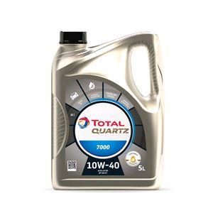 Engine Oils and Lubricants, TOTAL QUARTZ 7000 10W-40 ENGINE OIL 5 LITRE, Total